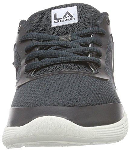 L.A. Gear D-Light - zapatilla deportiva de lona mujer gris - Grau (Dk Grey 02)