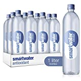 smartwater Antioxidant, 33.8 Fl Oz Bottles, Pack of 12