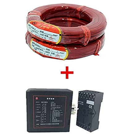 Amazon.com : Traffic Inductive Loop Vehicle Detector Signal Control +50M/Roll Traffic Inductive Loop Vehicle Detector Induction Coil Wire Cable : Camera & ...