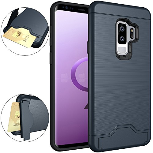 Galaxy S9 Plus Case, OUBA [Card Slot] [Kickstand]...