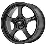 Motegi Racing MR131 Traklite Satin Black Wheel (17x8''/5x114.3mm, +40mm offset)