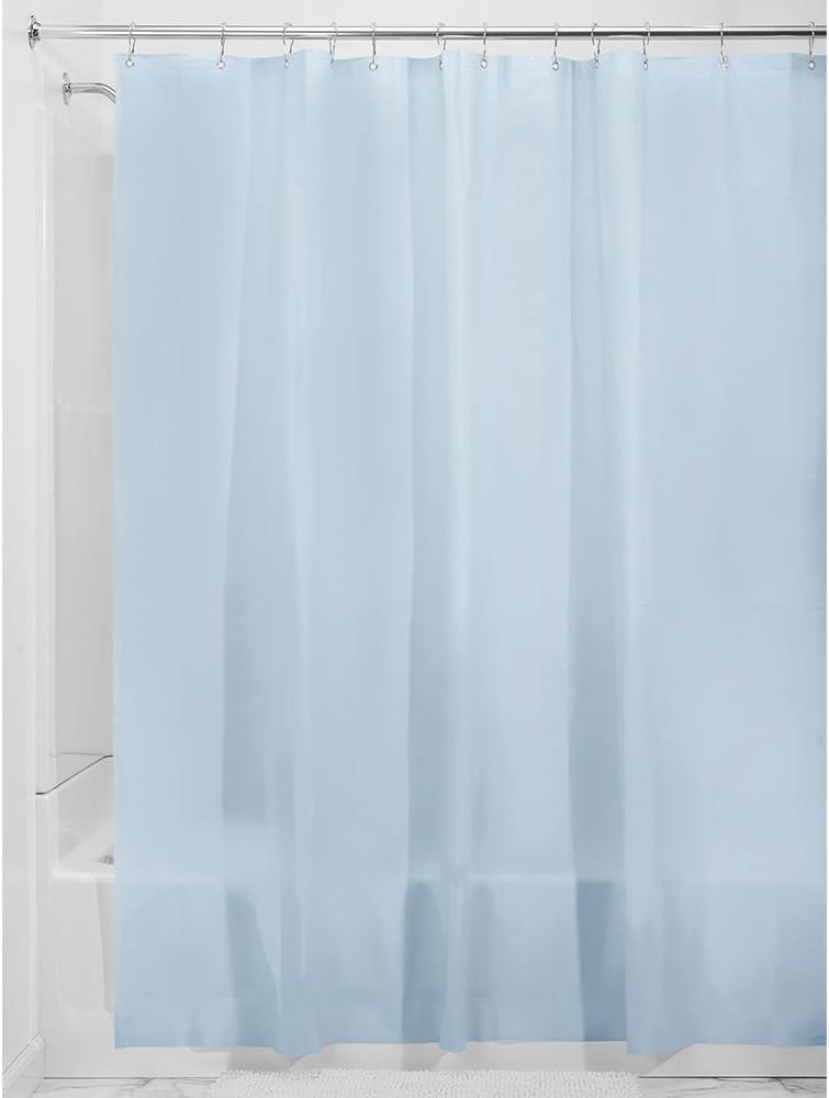 X-Wide 108 x 72 InterDesign Rivestimento Doccia in Eva Senza Muffa Colore: Gelo Misura 5,5 Gauge