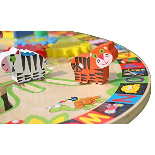 Pidoko Kids All-in-1 Multi-Activity Learning Center - Wooden