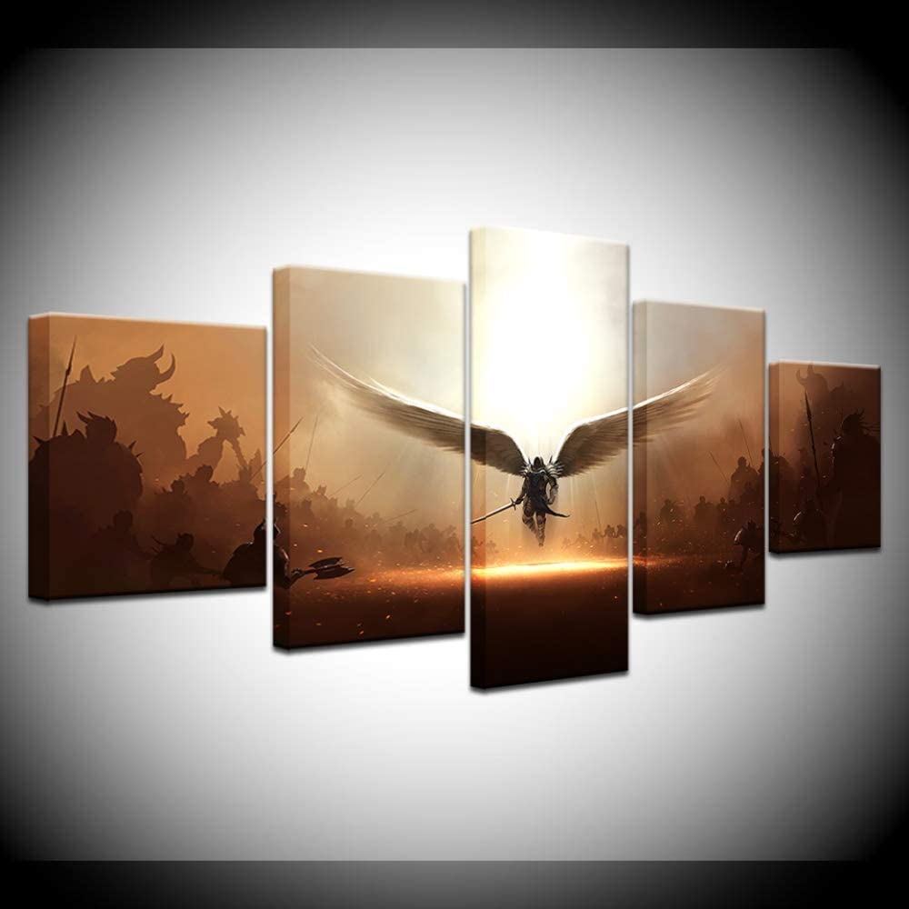 Amazon Com Skukt Wall Decor The Game Two Steps From Hell