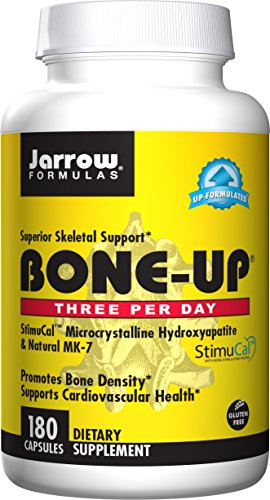 - Jarrow Formulas Bone-Up for Bone Density and Cardiovascular Health Capsules, 180 Count