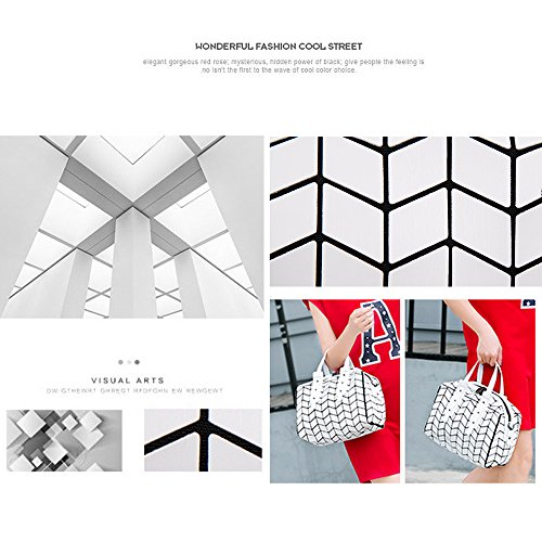 (JVPS 26-W) 2018 paquete de Boston para coser nuevo rincón japonés de diamantes tendencia Rubik cubo bolso estera bolso de moda Azul Marino