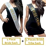 Bride Tribe Sash Bachelorette Party Favors Bridal Shower Gifts or Decorations