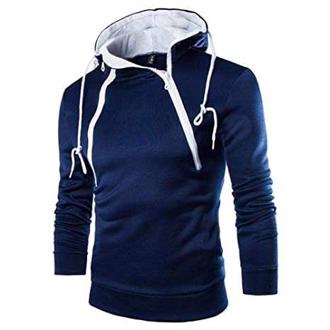 NINGSANJIN Herren Jacke Kapuzenpullover Kapuzensweater Hoodie Pullover Freizeithemd Langarm Sweatshirt Winterjacke Übergangsj