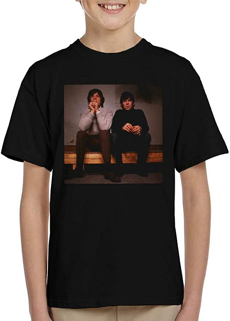 TV Times Mick and Keith Rolling Stones Kids T-Shirt