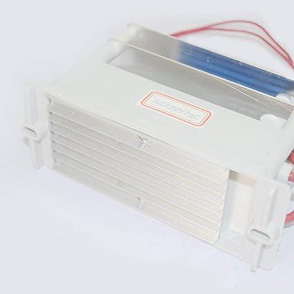 7g Generatore di ozono 7g//10g macchina per purificare e sterilizzare l/'aria Xeoleo CA 220V