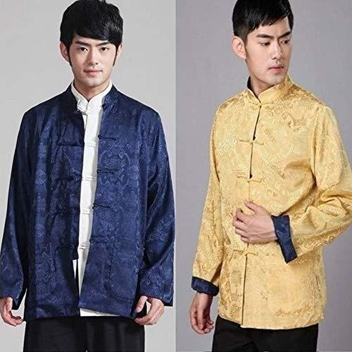 Chinois 05 Classique Femmes Vêtements Arts Manches Martiaux À Des Hommes Dazisen Deux Côtés Longues Traditionnels Style Costumes Veste Manteaux qUwpxIX0