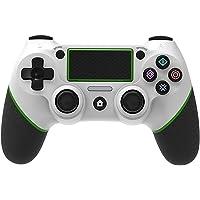 Yongluo Gamepad de jogo BT sem fio com touchpad vibração função de alça de 6 eixos Ergonômico alça de jogo compatível…