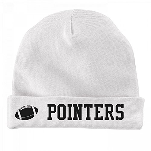 FUNNYSHIRTS.ORG Baby Football Pointers Fan: Infant Baby Hat (Pointer Hat White)
