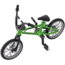 SupremeLife Finger Baby Monkey Bike, Mini Finger Bicycle, Metal Cool Toy, Creative Toy for Finger Monkey Collection, Best Christmas Gift (Green2)