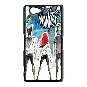 Sony Xperia Z2 Compact / Z2 Mini Case Shell Funny Monster Design Emo-Punk Band Paramore Phone Case Cover for Sony Xperia Z2 Compact / Z2 Mini