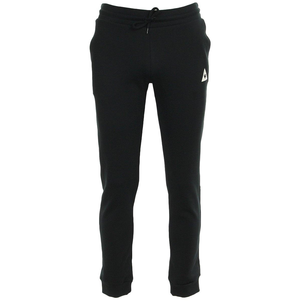 Le Coq Sportif Tri Sp Bbr CotonTech Pant Slim M Black, Pantalón de ...