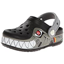 Crocs Kids Boy's CrocsLights Lighted Robo Shark Clog
