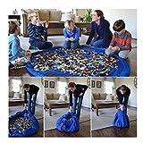 Kids Portable Play Mat Toys Storage Bag Organizer Rug Box for Lego Doll