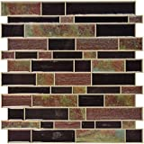 """RoomMates Modern Long Stone StickTILES, 4-pack 10.5"""" X 10.5"""""""