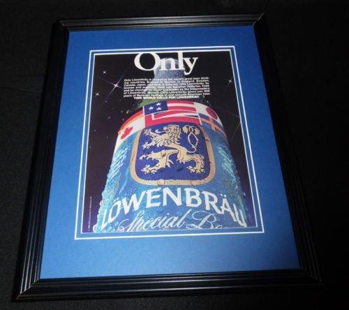 1986-lowenbrau-beer-framed-11x14-original-vintage-advertisement-b