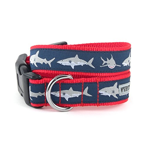 The Worthy Dog Jaws Collar, Blue, L