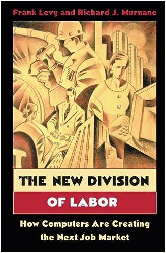 The New Division of Labor: How Computers Are Creating the Next Job Market: Amazon.es: Frank Levy, Richard J. Murnane: Libros en idiomas extranjeros