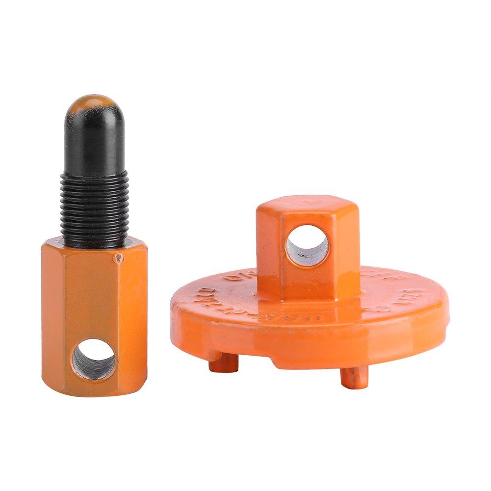 Zerodis Utensili per la rimozione della frizione della motosega, frizione di arresto del pistone universale Smontaggio del componente smontaggio del volano