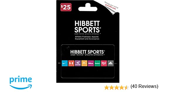 Amazon.com: Hibbett Sports $25 Gift Card: Gift Cards