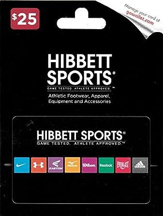 Amazon Com Hibbett Sports 25 Gift Card Gift Cards