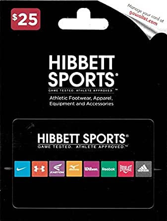e46509a09bf29 Amazon.com  Hibbett Sports  25 Gift Card  Gift Cards