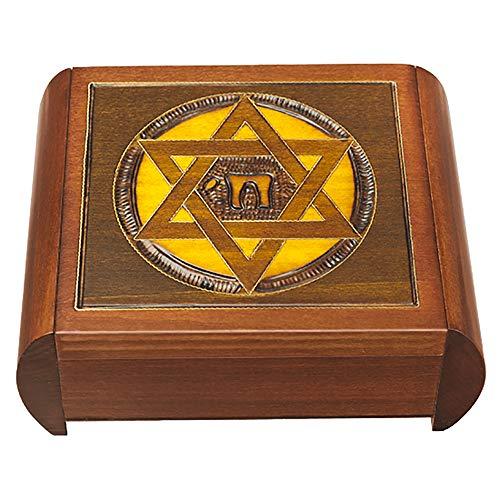(Star of David Secret Jewelry Keepsake Box)