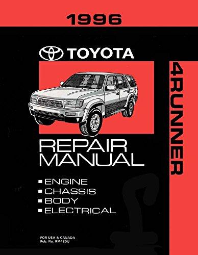 bishko automotive literature 1996 Toyota 4-Runner Shop Service Repair Manual Book Engine Drivetrain OEM