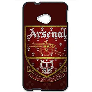 Arsenal Football Club Logo Phone Case 3D Hard Plastic Csae Cover For Htc One M7