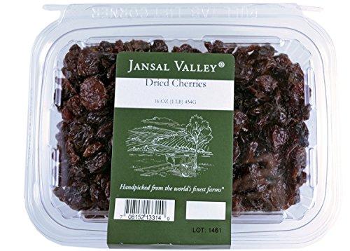 Jansal Valley Dried Cherries, 1 Pound by Jansal Valley