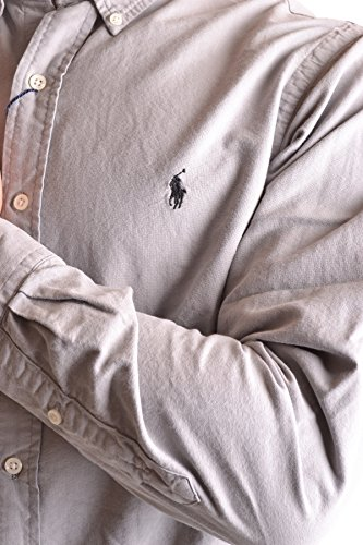 Ralph Lauren Homme MCBI251207O Gris Coton Chemise