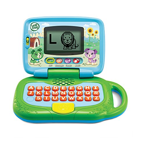 51ei6KJUKdL - LeapFrog My Own Leaptop, Green