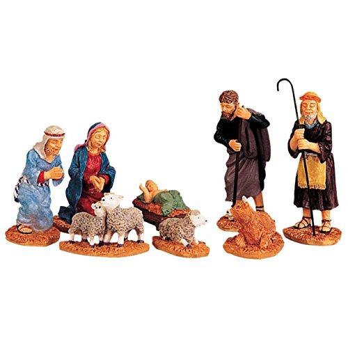 Porcelain Village Set - Lemax 92351 Nativity Figurines Porcelain Village Accessory