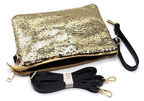 Oh My Shop, Poschette giorno donna oro oro Taille Unique