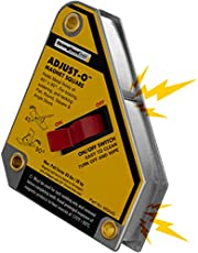 "Strong Hand Tools, Adjust-O Magnet Square, 4-3/8"" x 3-3/4"", MSA45"