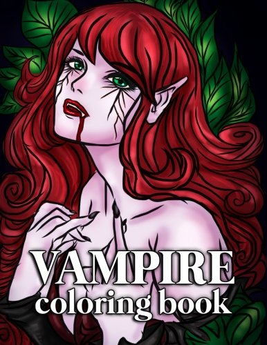 Vampire Coloring Book For Adults 30 Large Coloring Pages For Grown