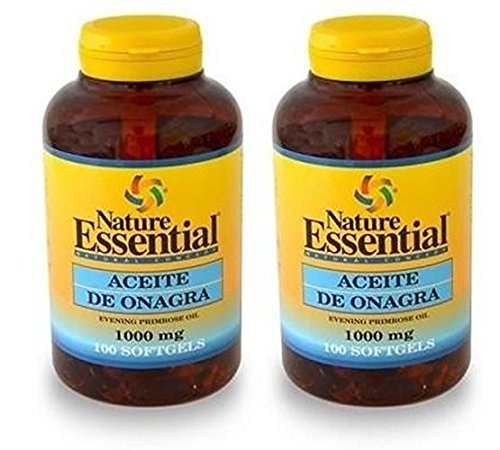 Amazon.es: Nature Essential: Aceite de Onagra 1000mg. 100 ...