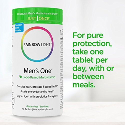 Rainbow Light Men S One Multivitamin Probiotic Enzyme