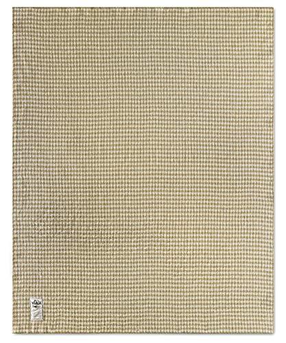 (Woolrich Home Mini Buffalo Double-Face Wool Blanket, 56