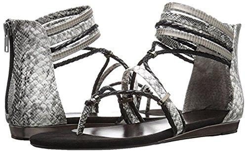 (Very Volatile Women's Larissa Gladiator Sandal, Black/Multi, 8 B US)