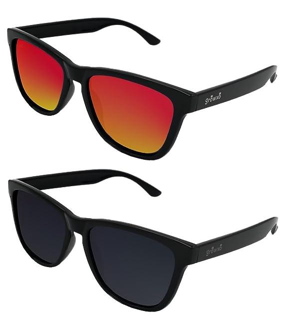 Pack 2 Gafas de Sol Polarizadas Hombre Mujer - Moda Sport y Fashion - Lentes 1.1