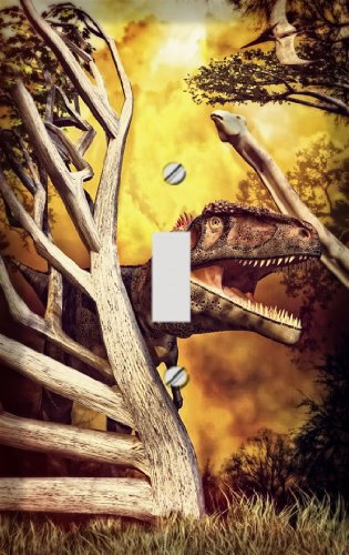 T Rex Hunt Switchplate - Switch Plate Cover
