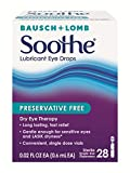 Bausch & Lomb Soothe Lubricant Eye Drop, 28 Count