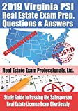2019 Virginia PSI Real Estate Exam Prep Questions and Answers: Study Guide to