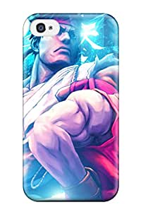 Cheap 1666678K69639303 Ideal Case Cover For Iphone 4/4s(street Fighter Team), Protective Stylish Case