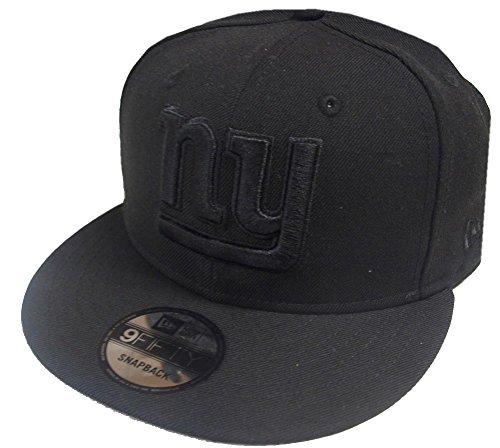 736909d15c4 New Era NFL New York Giants Black On Black Snapback Cap 9fifty Limited  Edition